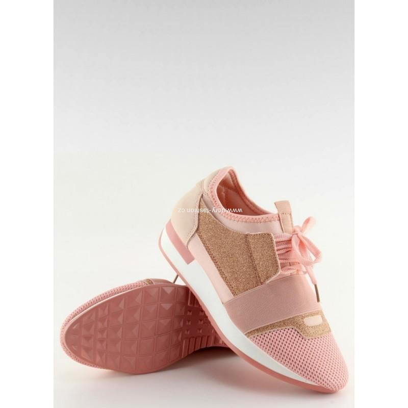 Růžové tenisky ANGEL 1ee8c7f2c31