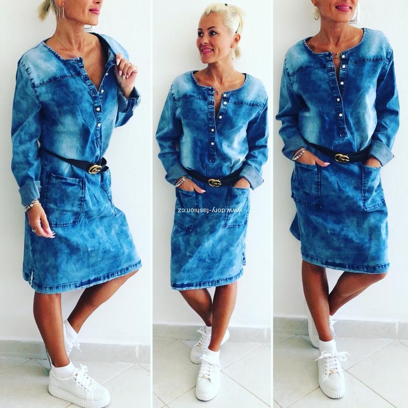 Jeansové šaty DARLING bf4d03e1f1